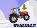 Cristmas tractor
