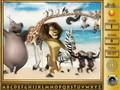Игры Мадагаскар: найди букву