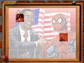 Барак Обама и Человек Паук: сложи картинку