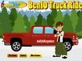 Бен 10 управляет грузовиком