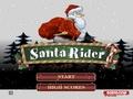 Санта на байке