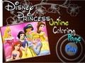 Принцессы Диснея Онлайн Раскраска