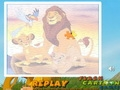 Король  Лев: семейный пазл