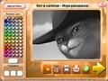 Кот в сапогах - раскраска