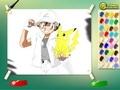 Раскраска про покемонов