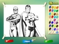 Супермен и Человек Паук