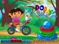 Даша Следопыт: езда на велосипеде