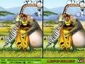 Игры Мадагаскар: найди отличия