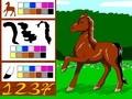 Благородная лошадь
