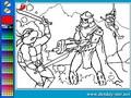 Черепашки ниндзя в бою