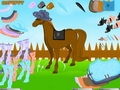 Лошадь на скачках