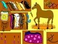 Лошадь собирается на бал