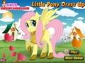 Маленькая пони: одевалка