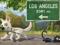 """Пазл """"Вольт: путешествие в Лос-Анделес"""""""