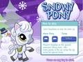 Снежный пони