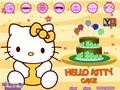 Хелло Китти: украшаем пирог