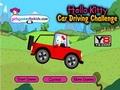 Хелло Китти: вождение автомобиля