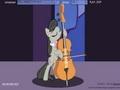 Дружба - это чудо: игра на виолончели