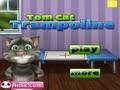 Говорящий кот на батуте