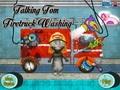 Говорящий кот: пожарная машина