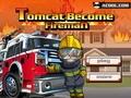 Говорящий кот пожарный