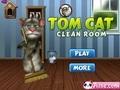 Говорящий кот: уборка