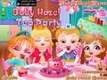 Малышка Хейзел: чайная вечеринка