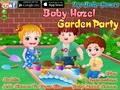 Малышка Хейзел: игры в саду