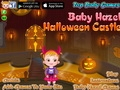 Малышка Хейзел в замке на Хеллоуин