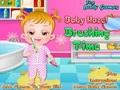 Малышка Хейзел: время чистить зубы