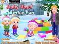 Малышка Хейзел: зимнее веселье