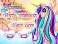 Принцесса пони: уход за волосами