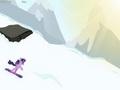 Сумеречная искорка катается на сноуборде