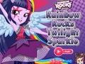 Сумеречная искорка: Rainbow Rocks