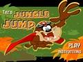 Таз прыгает по джунглям