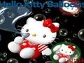 Хелло Китти в пузырьках