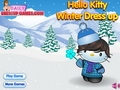 Хелло Китти: зимняя одевалка