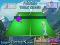 Холодное сердце: настольный теннис